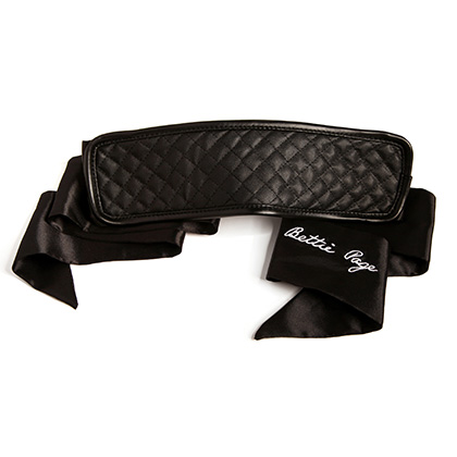Bad Girl Blackout Blindfold Black