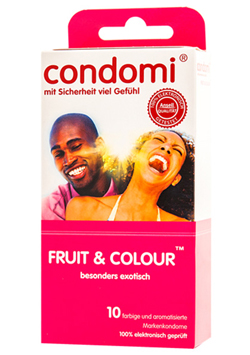 Preservativos Condomi Fruit & Color 10 uds.