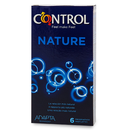 Control Nature Condoms 6 un