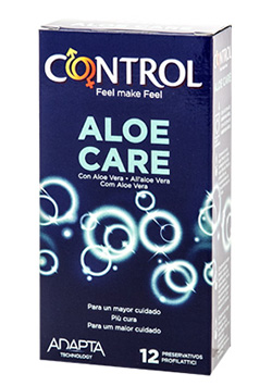 Preservativos sensitivos Control Nature Aloe Care 12 Uds