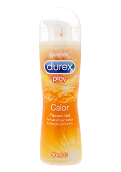 Durex Play Calor Lubricante 50 ml.
