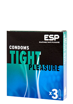 Preservativos sensitivos Tight Pleasure 3 Uds