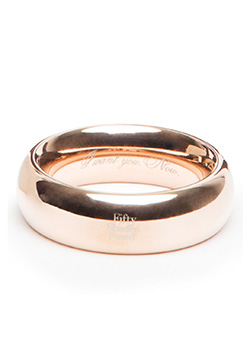 I Want You. Now. Steel Love Ring