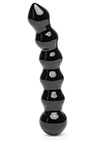 It.s Divine Glass Beaded Dildo Black