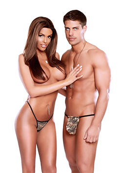 Set Pareja Camuflaje Almost Commando