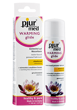 Med Warming Glide Lubricante Calor 100 ml.