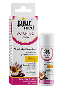 Med Warming Glide Lubricante Calor 30 ml.
