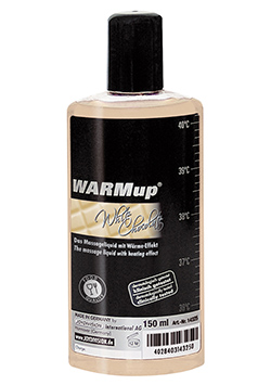 Warm Up Chocolate Blanco Aceite Calor