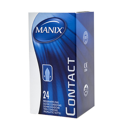 Preservativos sensitivos Manix Contact 24 uds