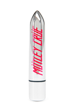 Motley Crue Too Fast For Love 10 Function Bullet Vibrator Silver