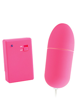 Neon Remote Control Bullet Pink