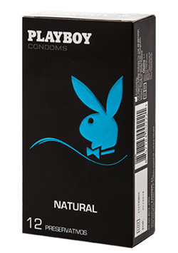 Preservativos Playboy Natural 12 Uds
