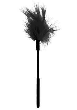 Feather Ticker 7 Black