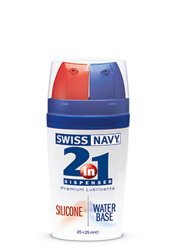 Swiss Navy Lubricante<br> 2 en 1 Silicona/Agua