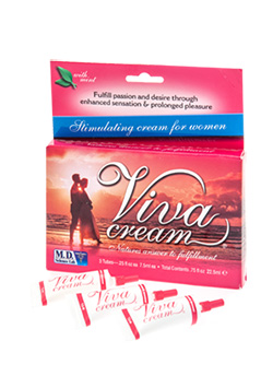 Swiss Navy Viva Cream 3 x 10 ml.